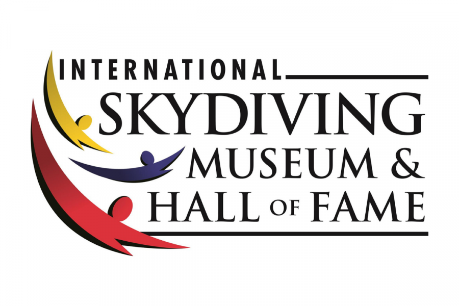 International Skydiving Museum and Hall of Fame logo.