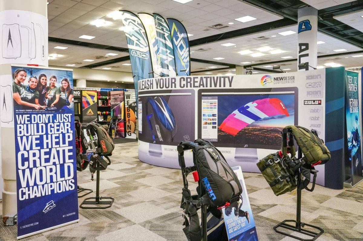 Area shot of PIA Symposium exhibit.