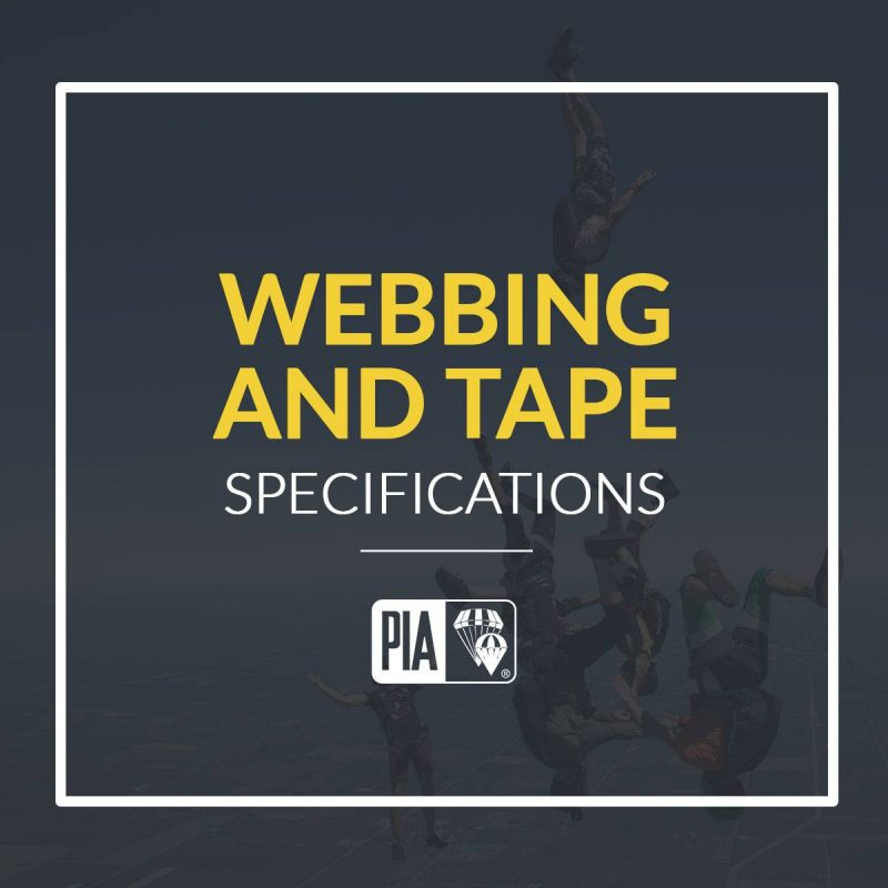Webbing and Tape Specifications